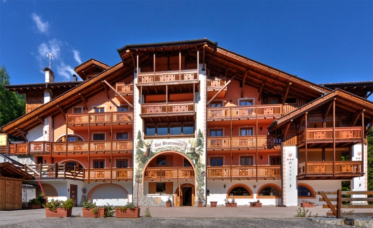 Hotel dal Bracconiere 3* Montagna