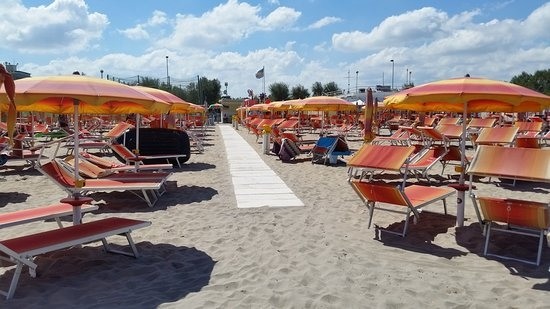 International Riccione Camping Village Mare Italia